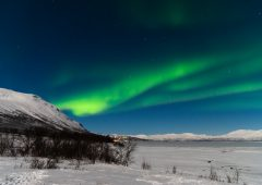 Northern Lights over Abisko, Sweden